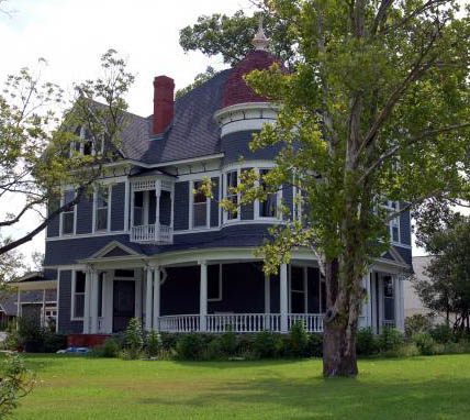 Photo of the Edwin Jenkins home in historic Bryan Texas