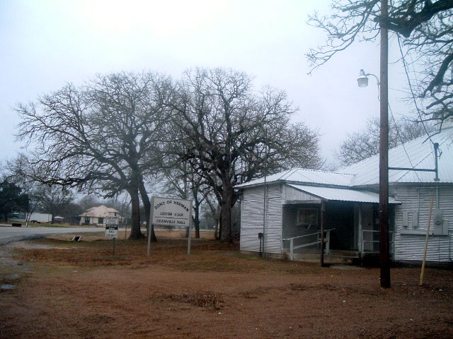 Photo of the Sons of Herman Hall in Deanville Texas