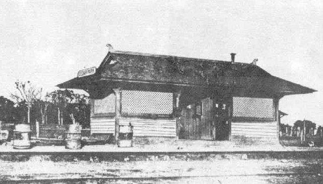 Photo of the Train Depot in Cedar Park Texas