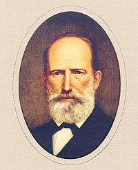 Photo of Governor Edward Clark elevated to the office of Governor by the Secession Convention  replacing Gov. Sam Houston who opposed the war.