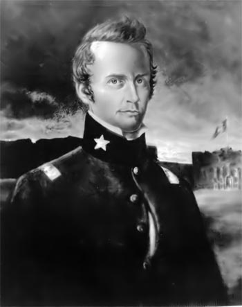 History of William B. Travis, Commander of the Alamo